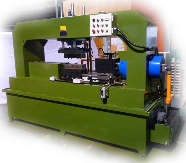 Tube end forming machine bar end forming machine from for Food bar press machine